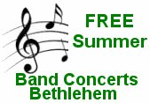 Free summer band concerts